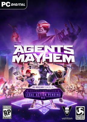 Agents of Mayhem PC Cover