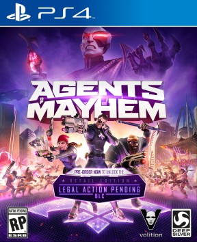 Agents of Mayhem PS4 Cover