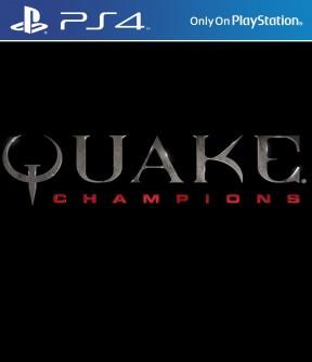 Quake Champions PS4 Cover