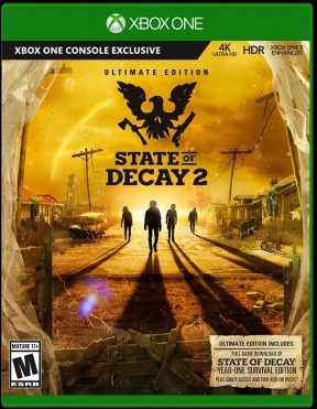 State of Decay 2 Xbox One Cover
