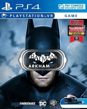 Batman: Arkham VR PS4 Cover
