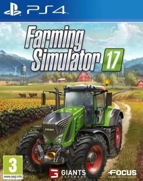 Farming Simulator 17 PS4 Cover