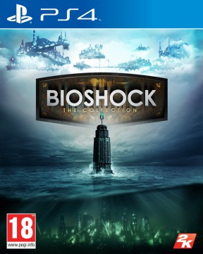 Bioshock: The Collection PS4 Cover