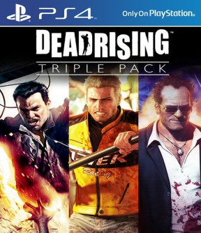 Dead Rising Triple Pack PS4 Cover