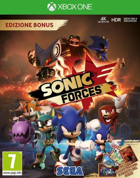 Sonic Forces Xbox One Cover
