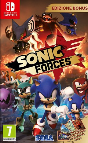 Sonic Forces Switch Cover