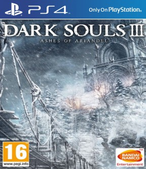 Dark Souls III - Ashes of Ariandel PS4 Cover