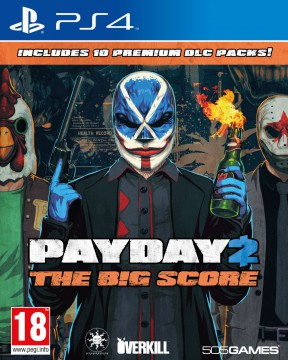 Payday 2 The Big Score PS4 Cover