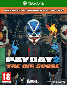 Payday 2 The Big Score Xbox One Cover