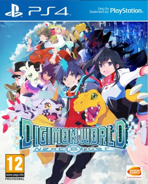 Digimon World: Next Order PS4 Cover