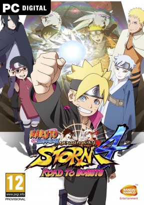 Naruto Shippuden Ultimate Ninja Storm 4 Road to Boruto PC Cover