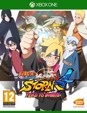 Naruto Shippuden Ultimate Ninja Storm 4 Road to Boruto Xbox One Cover
