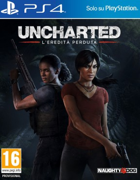 Uncharted: L'Eredità Perduta PS4 Cover