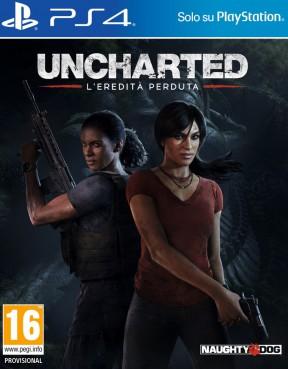 Uncharted: L'Eredità Perduta PS4 Cover
