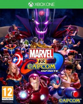 Marvel vs Capcom Infinite Xbox One Cover