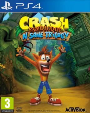 Crash Bandicoot N-Sane Trilogy PS4 Cover
