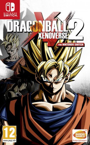 Dragon Ball Xenoverse 2 Switch Cover