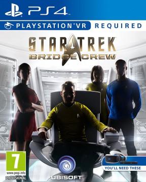 Star Trek Bridge Crew PS4 Cover