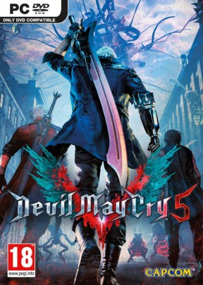 Devil May Cry 5 PC Cover