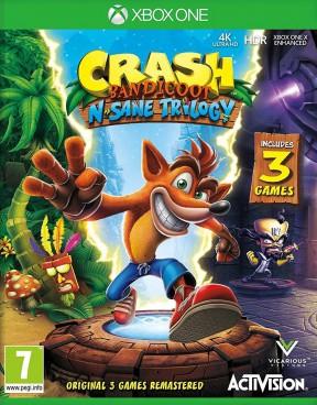 Crash Bandicoot N-Sane Trilogy Xbox One Cover