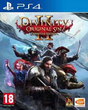 Divinity: Original Sin 2 PS4 Cover