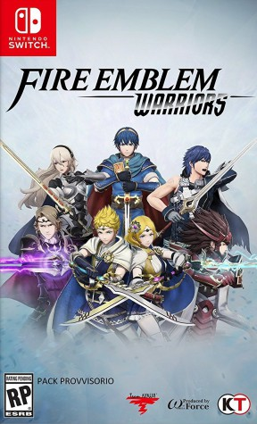 Fire Emblem Warriors Switch Cover
