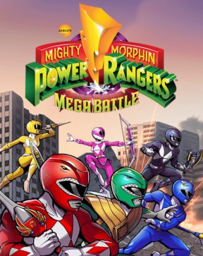 Mighty Morphin Power Rangers: Mega Battle PS4 Cover