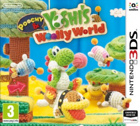 Poochy & Yoshi's Wooly World 3DS Cover