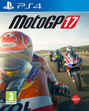 MotoGP 17 PS4 Cover