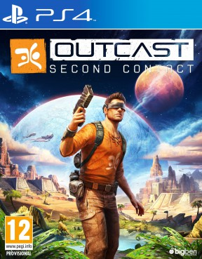 Outcast - Second Contact PS4 Cover