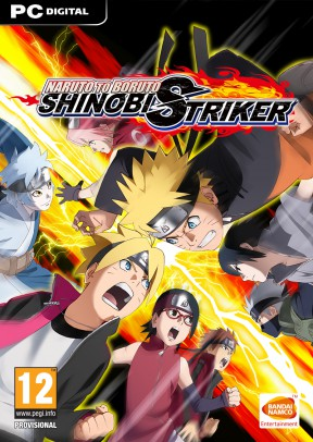 Naruto to Boruto: Shinobi Striker PC Cover