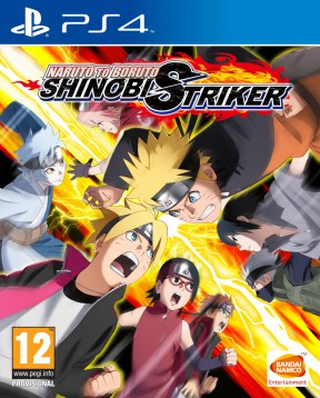Naruto to Boruto: Shinobi Striker PS4 Cover