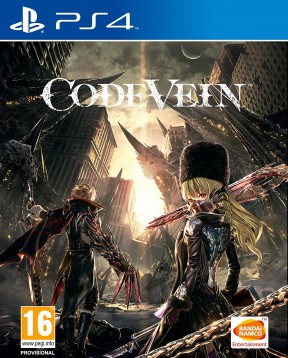 Code Vein PS4 Cover