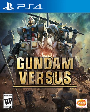 Gundam Versus PS4 Cover