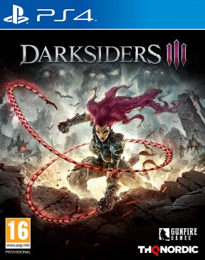 Darksiders 3 PS4 Cover