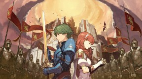 Fire Emblem Echoes: Shadows of Valentia 3DS Cover