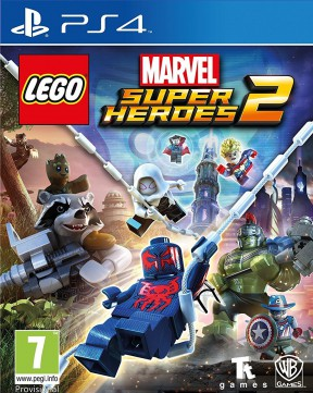 LEGO Marvel Super Heroes 2 PS4 Cover