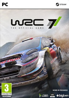 WRC 7 PC Cover
