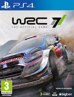 WRC 7 PS4 Cover