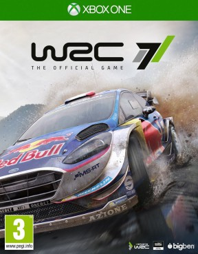 WRC 7 Xbox One Cover