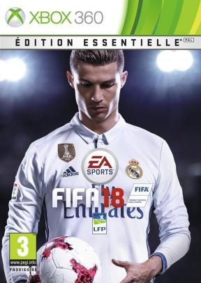 FIFA 18 Xbox 360 Cover
