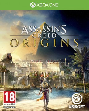 Assassin's Creed Origins Xbox One Cover