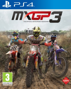MXGP 3 PS4 Cover