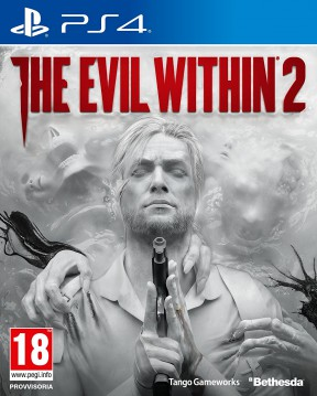 The Evil Within 2 PS4 Cover