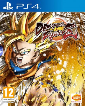 Dragon Ball FighterZ PS4 Cover