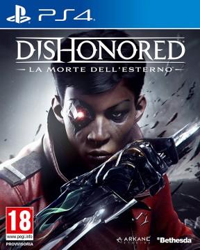 Dishonored: La Morte dell'Esterno PS4 Cover
