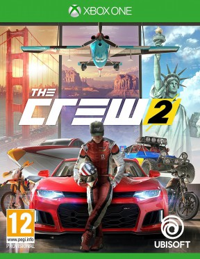 The Crew 2 Xbox One Cover
