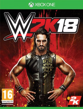 WWE 2K18 Xbox One Cover