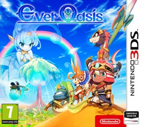 Ever Oasis 3DS Cover