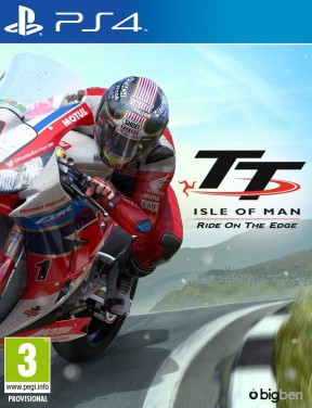 TT Isle of Man PS4 Cover